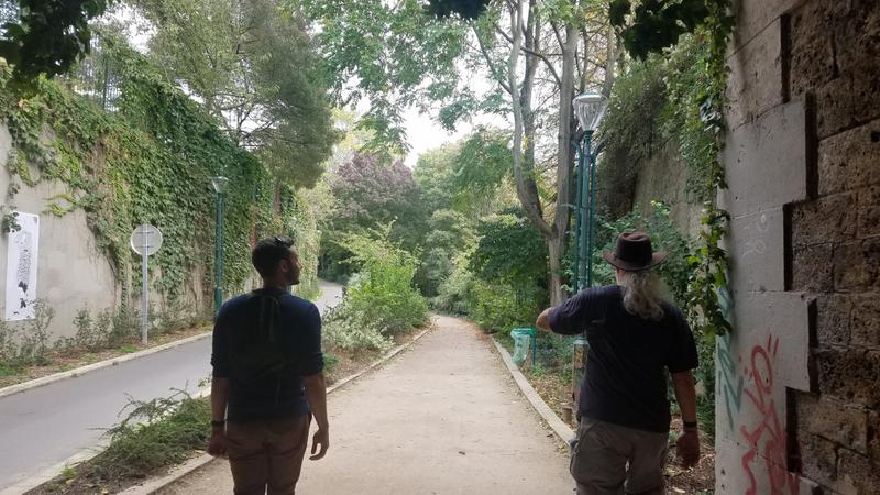 Walking the Coulee Verte