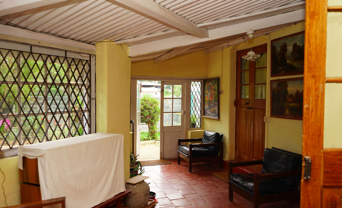Western Verandah of the house
