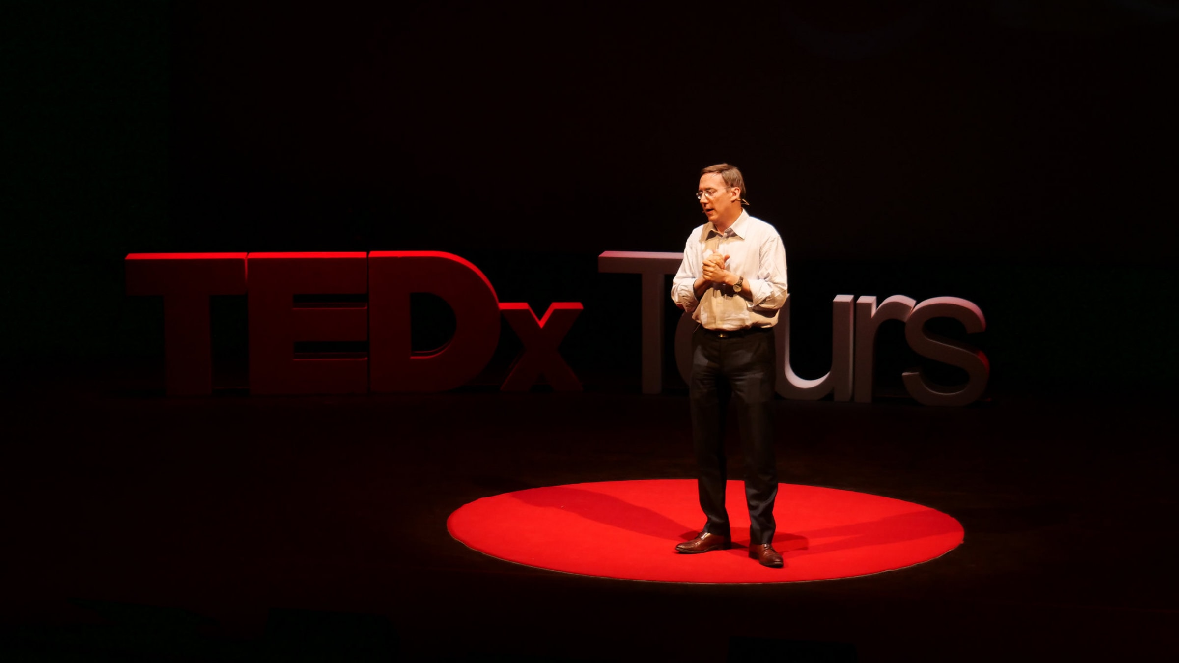 Fabien Boutard, TEDx Tours founder and curator
