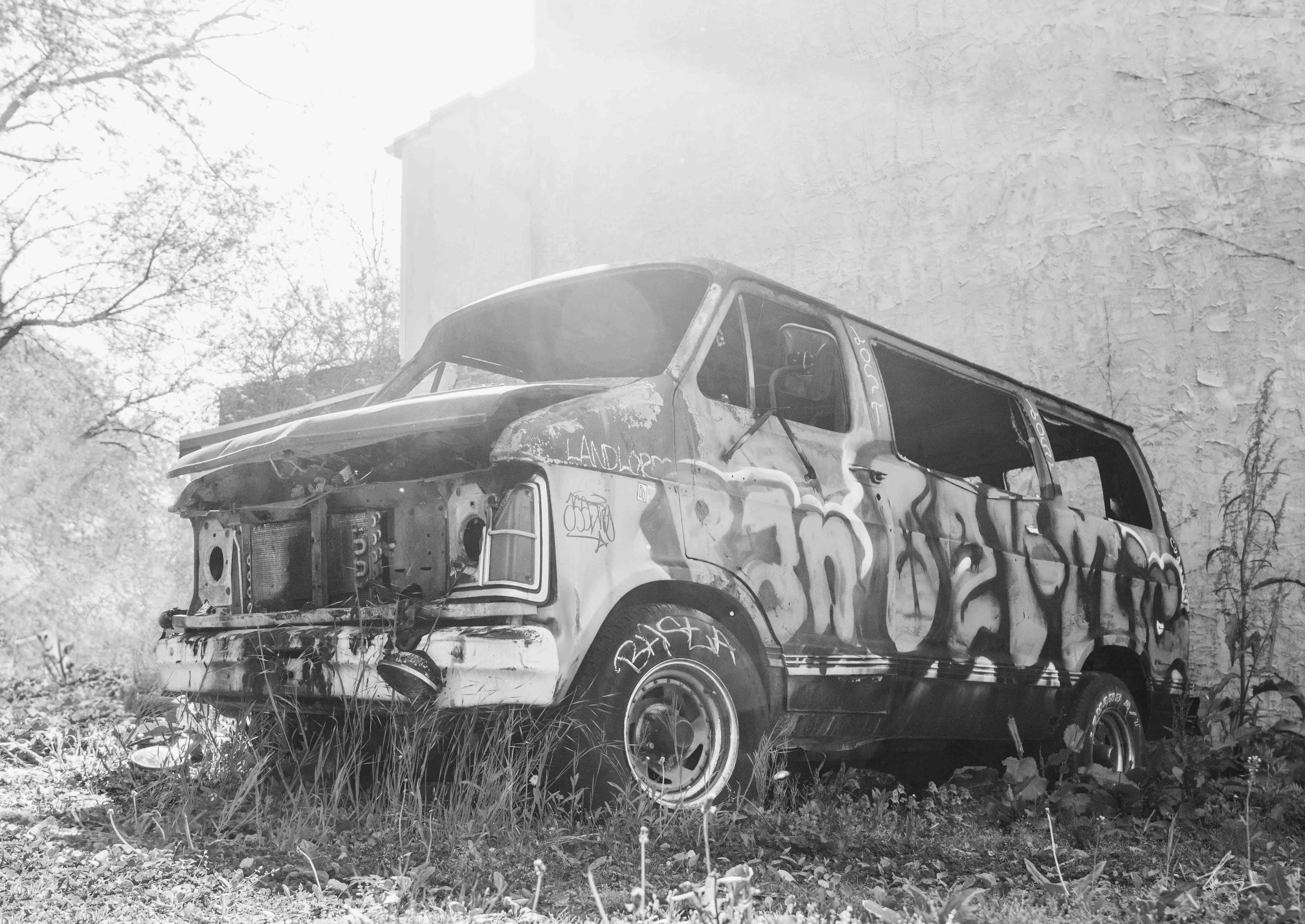 Graffiti Van - Manayunk, Pennsylvania