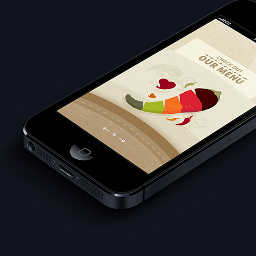 iPhone app: Nandos
