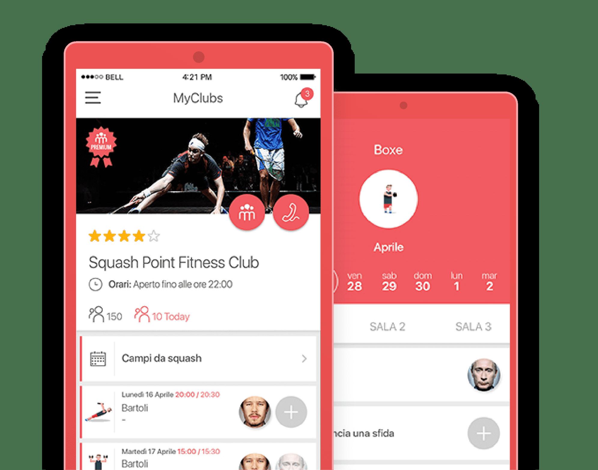 sportclubby sports app development