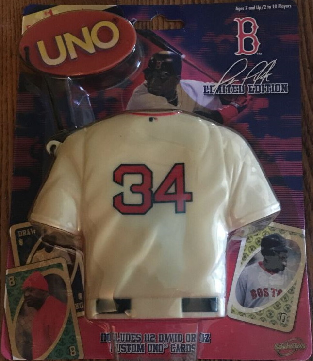 Boston Red Sox Uno: David Ortiz