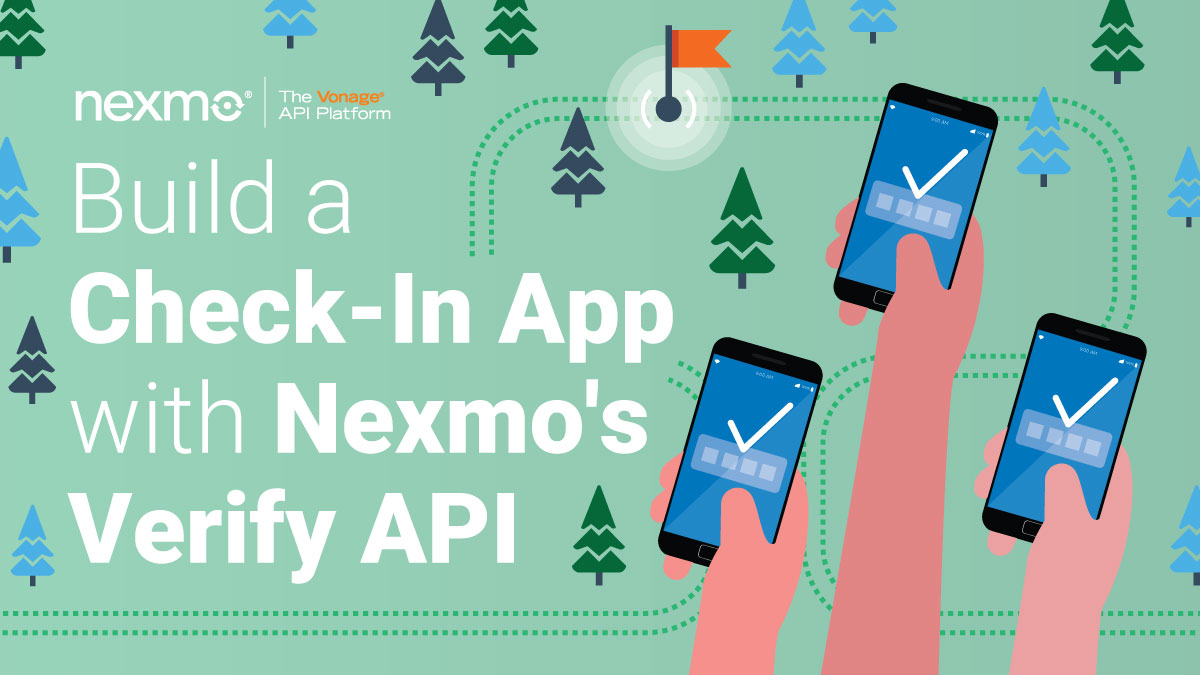 Building a Check-In App with Nexmo's Verify API and Koa.js