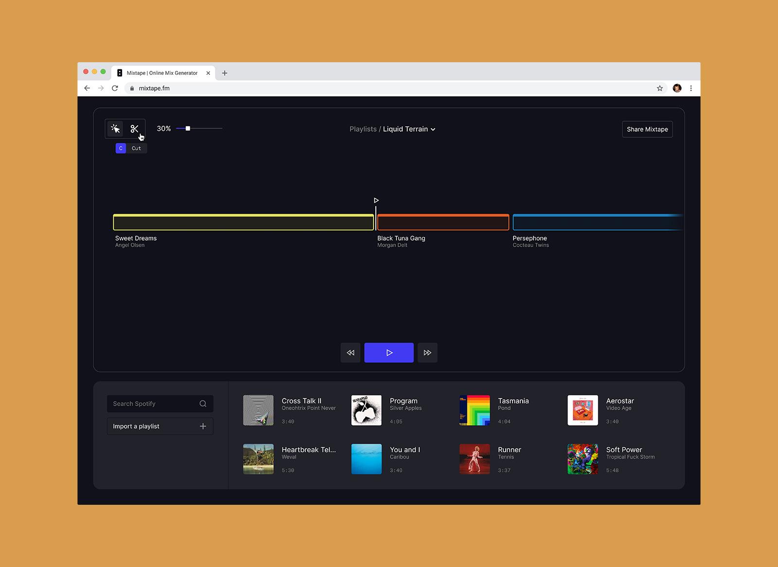 Mixtape.fm thumbnail
