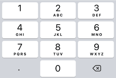 03decimal pad