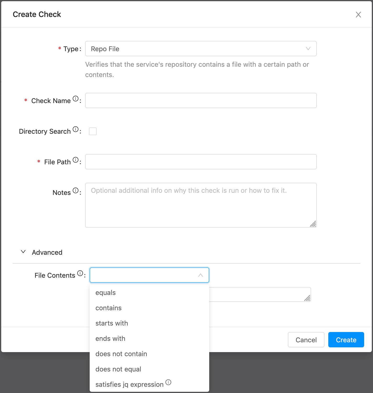 Repo File Check