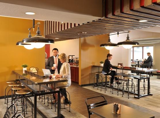 Breakfast Area at Stoney Creek Hotel Kansas City