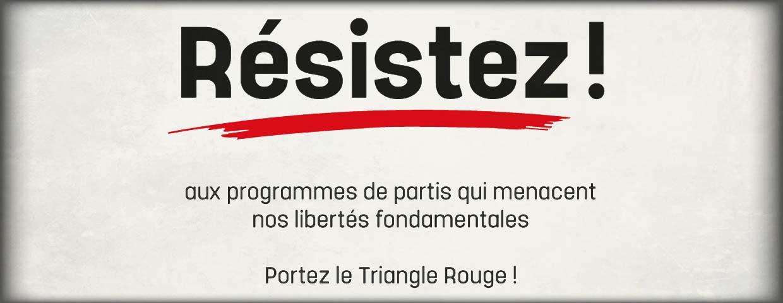 Résistez aux programmes de partis qui menacent nos libertés fondamentales