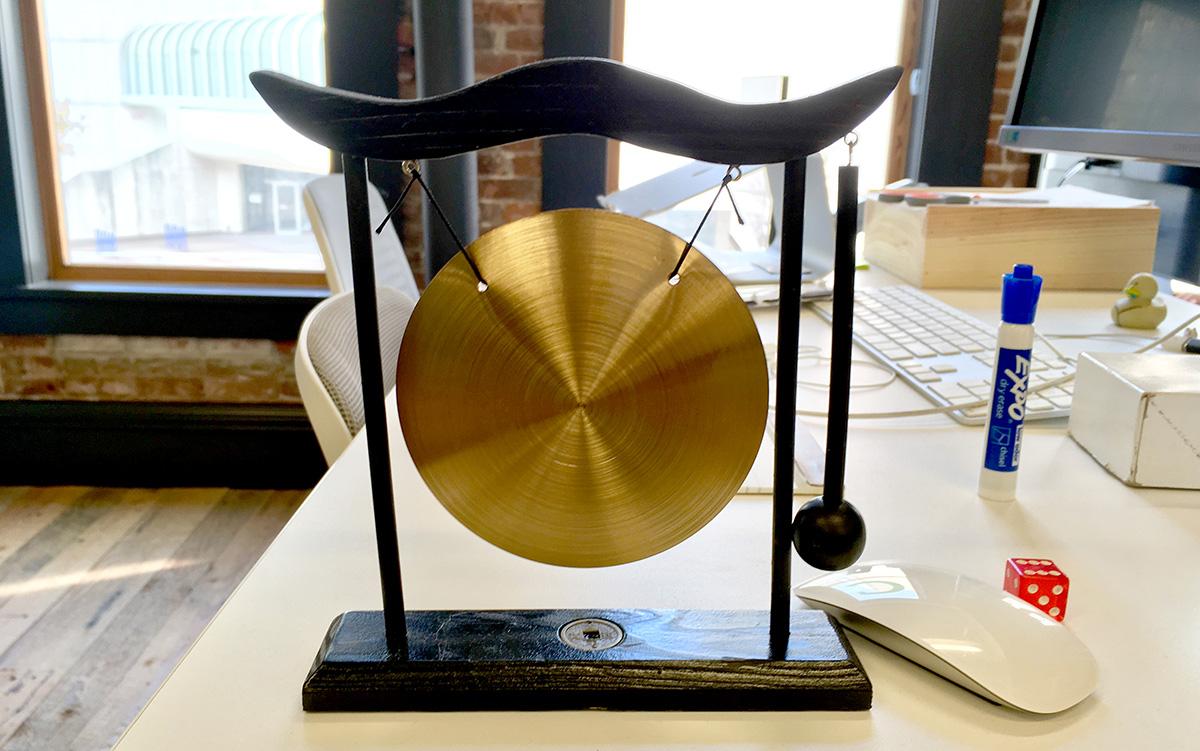 sad tiny gong