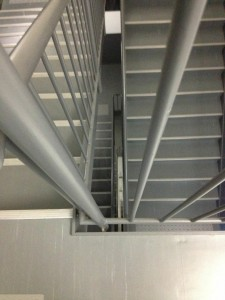 3-11-quake-climbing-stairs-japan