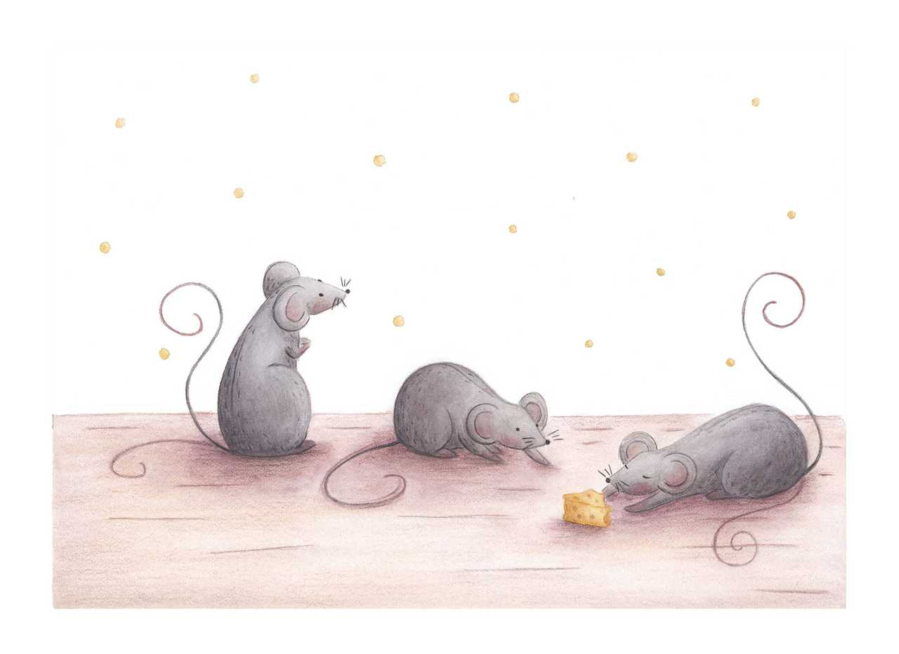 3 little mice