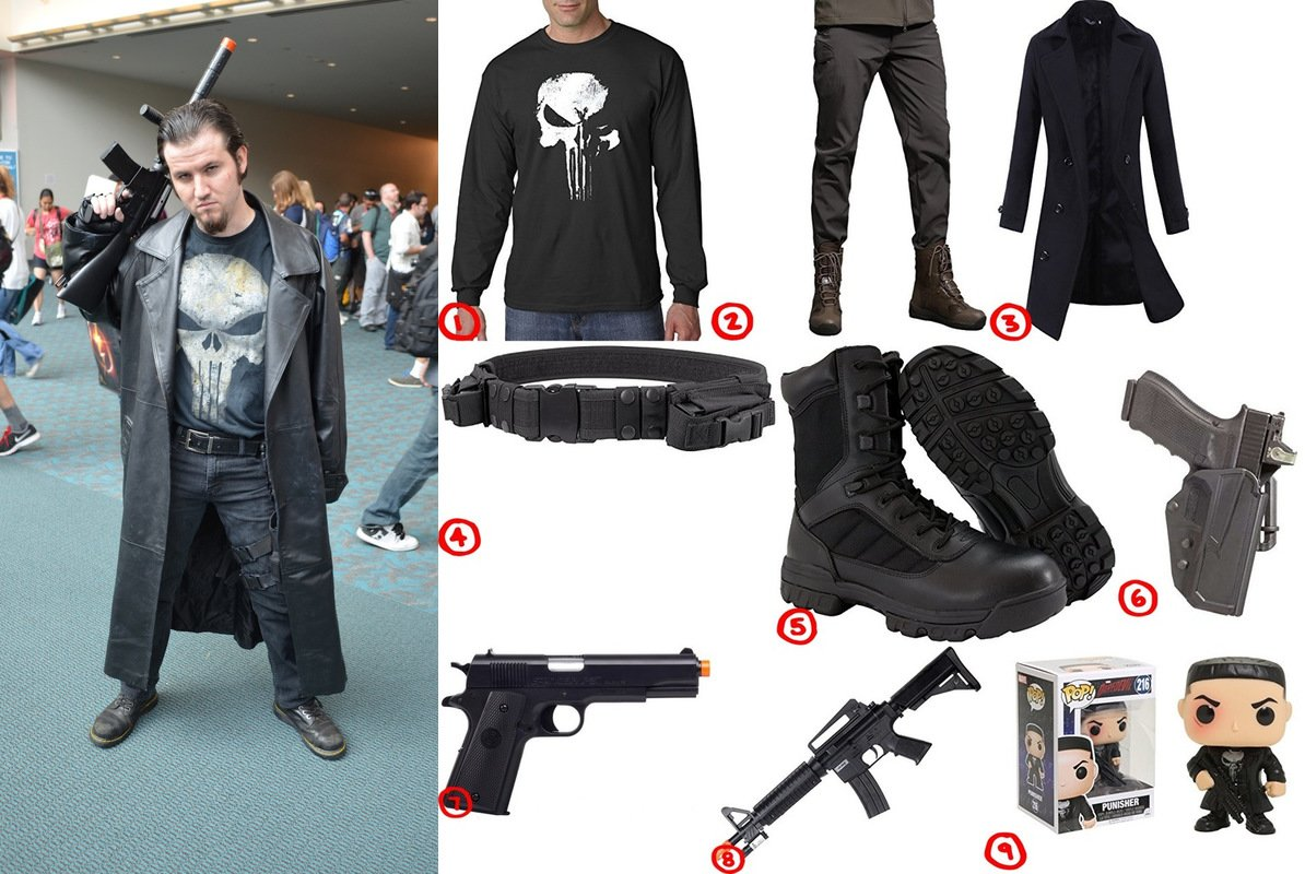 The Punisher Cosplay & Costume Guide