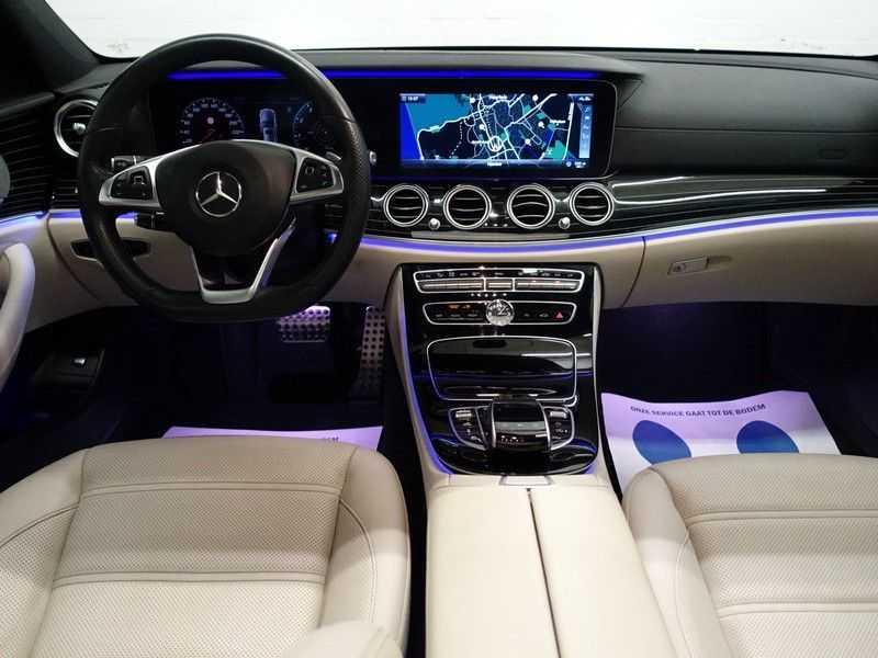 Mercedes-Benz E-Klasse 43 AMG 4Matic Prestige 402pk Aut- Pano, Burmester, Head-up, 360 Camera afbeelding 10