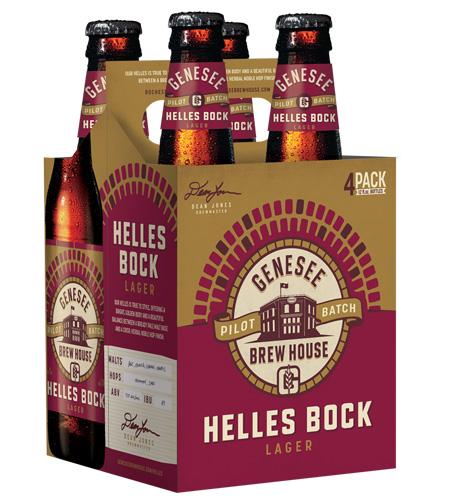 Genesee Helles Bock can