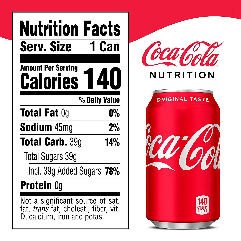 coca cola nutrition