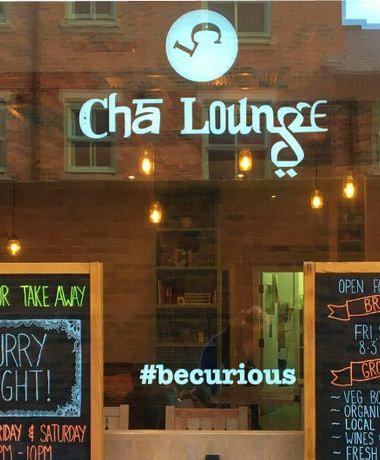 Cha Lounge shopfront