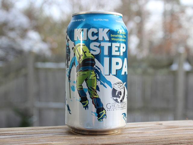 Kick Step IPA, a IPA brewed by Ghostfish Brewing Company