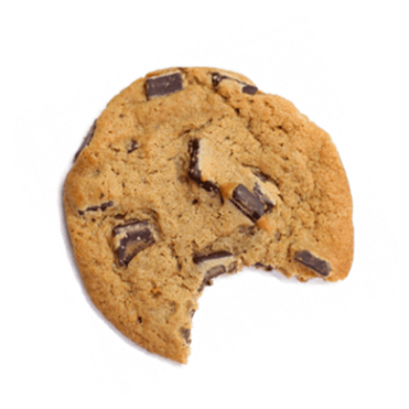 cookie one bite taken