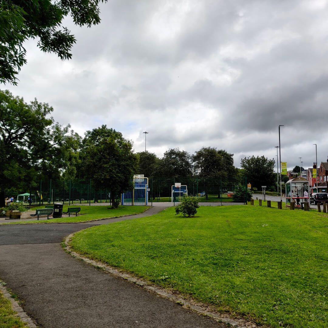 Holbeck Moor Park Basketball Court