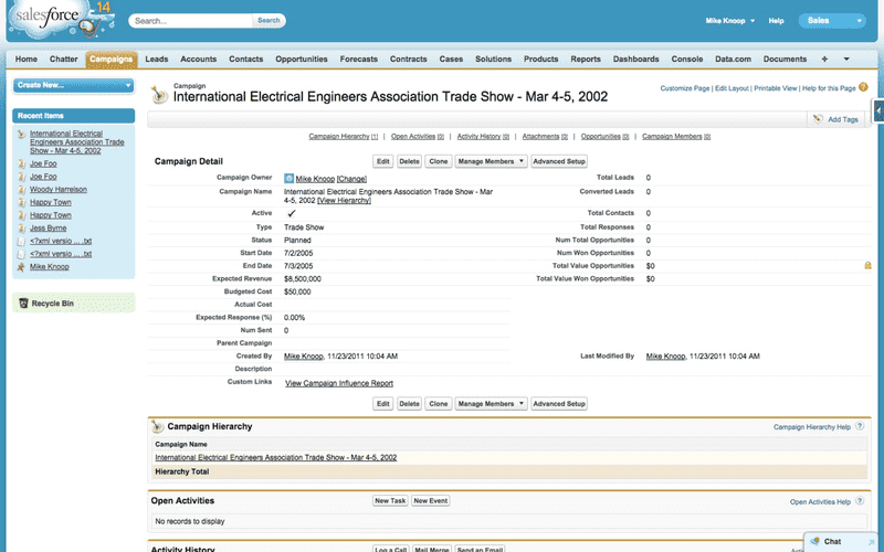 Preview Salesforce 3