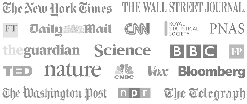 Logos of the publications that have used our content