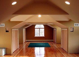 hallway drywall project
