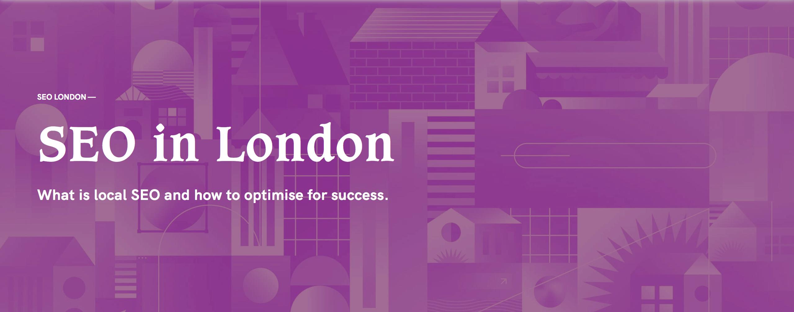 seo in london header