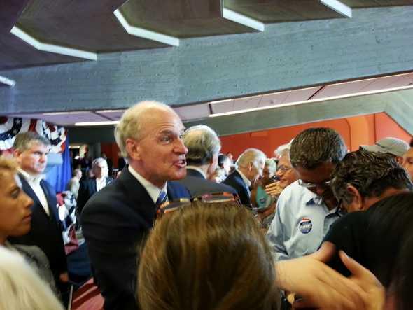 Meeting VP Biden, Senator Markey & Bill Keating IRL