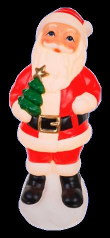 Santa With Tree photo