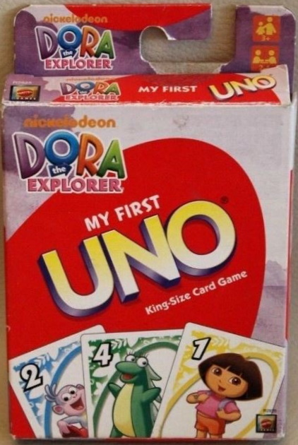 Dora the Explorer My First Uno
