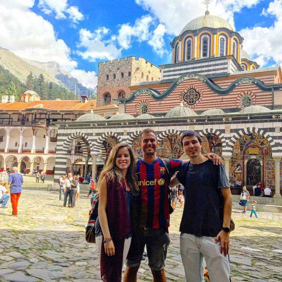 MarsBased team at the Rila Monastery in Bulgaria