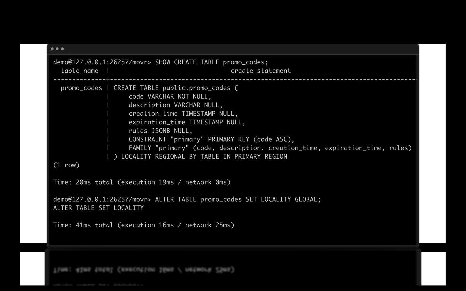 multi-region deployment from the command line (CLI) in cockroachDB