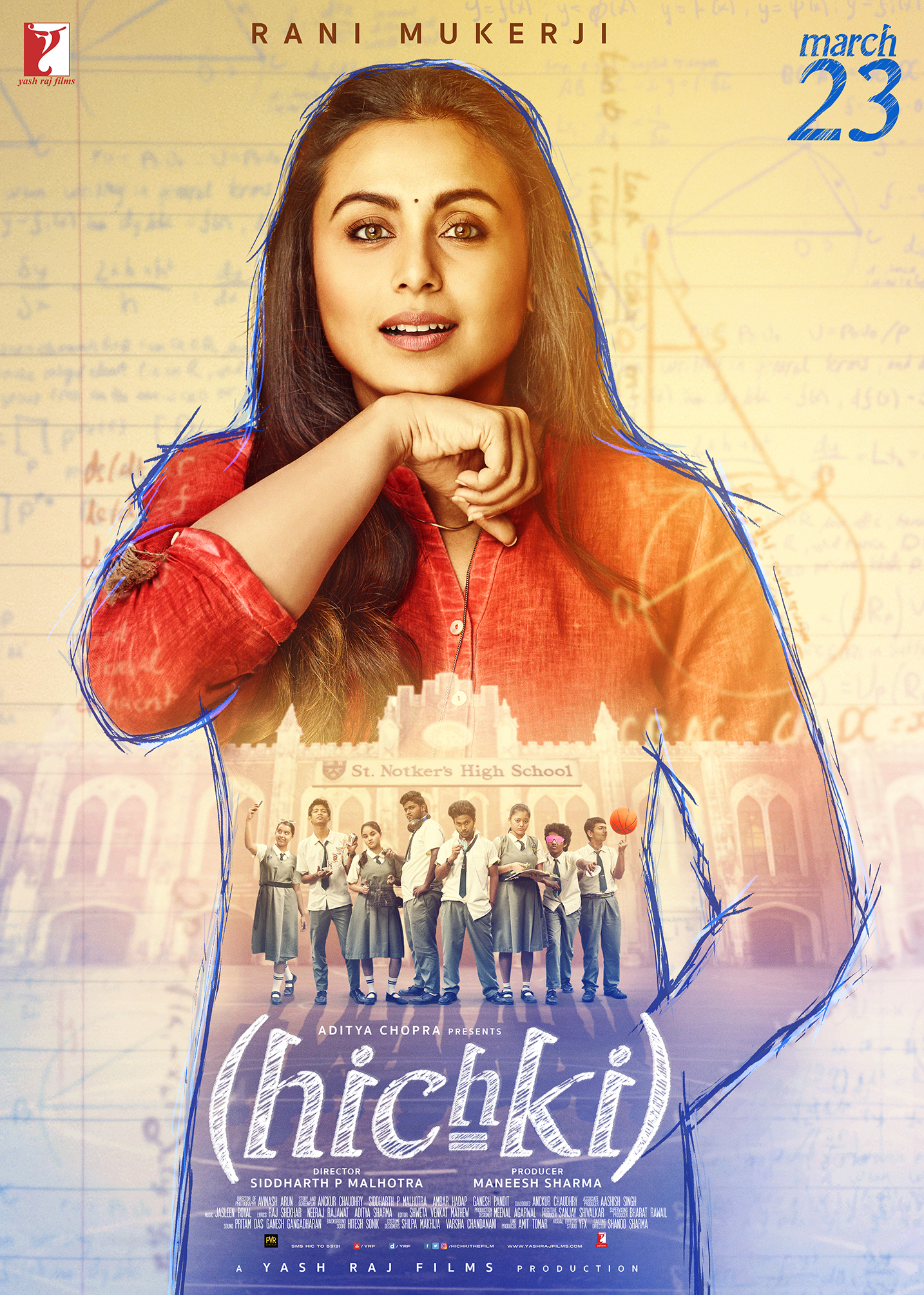 Hichki presents a positive and inspiring story about a woman who turns her biggest weakness into her biggest strength.