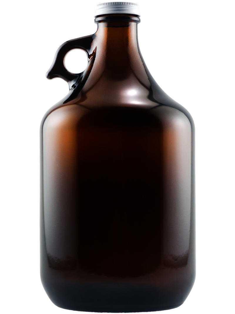 Blank beer growler for custom etching