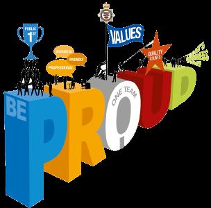 Be Proud Awards Logo
