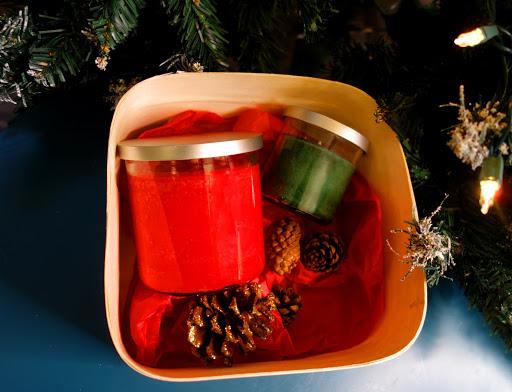 presente de natal, velas perfumadas