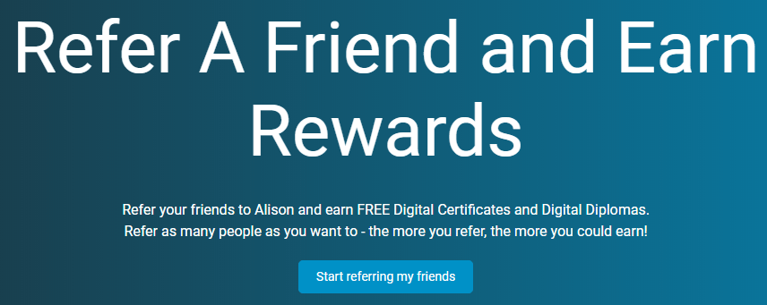 Alison referral program