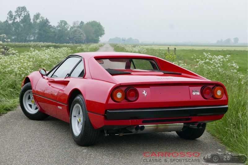 Ferrari 308 GTB Carburetor / Dry-sump afbeelding 6