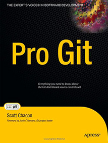 Pro Git Book Cover