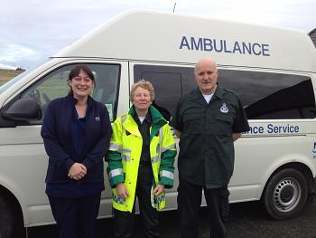 Fetlar ambulance
