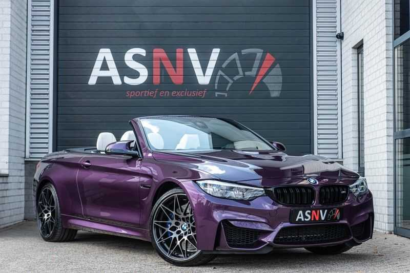 BMW M4 Cabrio Competition, DCT, 450 PK, Harman/Kardon, LED. Comfort/Toegang, Surround View, DAB, Head/Up, 9500KM!! afbeelding 1