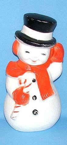 Illuminated Snowman photo
