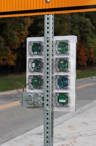 Signpost modular city-scale sensing platform
