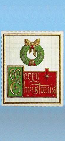 Merry Christmas Plaque photo