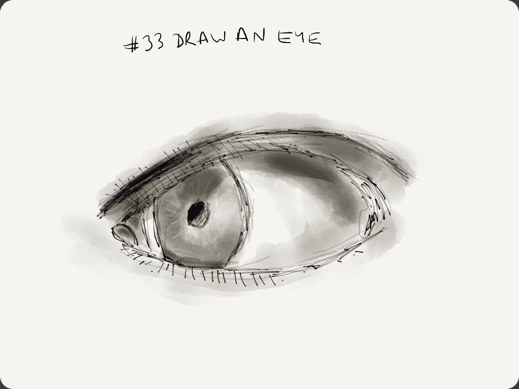 EDM #33 Draw an eye