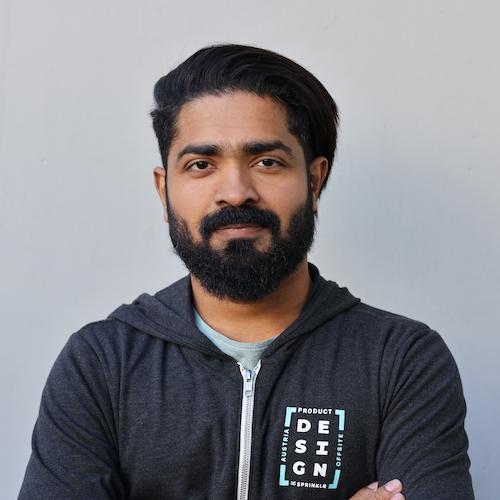 Sarath Paliyath: Senior Product Designer