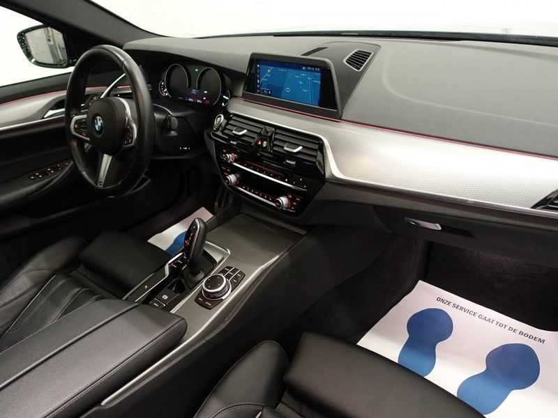 BMW 5 Serie Touring 520i High Exe 210pk M- Perfomance Powerkit- Pano, Leer, Full afbeelding 24