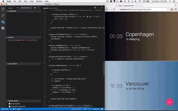 Debugger for Chrome vscode extension