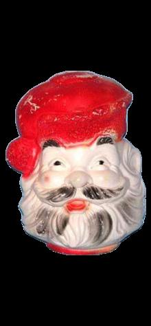 Fleer Dubble Bubble Gum Flashing Santa Claus photo